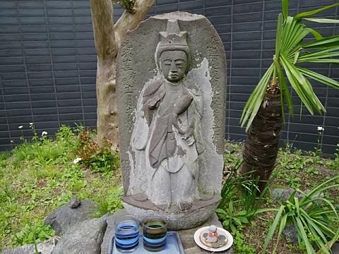 庚申塔(聖観音菩薩)