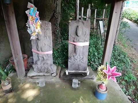 辻山の庚申塔