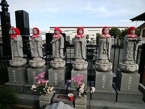 泉福寺六地蔵