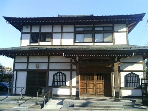 泉福寺三仏堂
