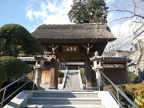 東泉寺山門