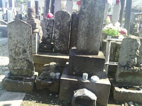 東泉寺霊園庚申塔