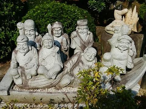 常楽寺七福神