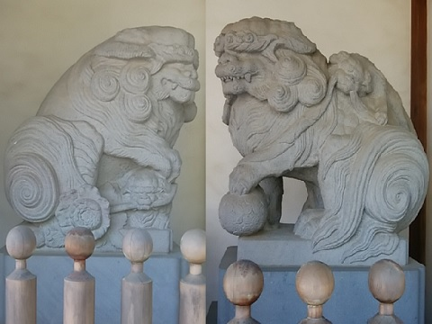 西明寺狛犬