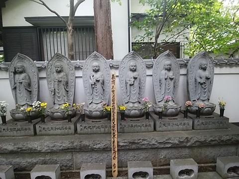 全龍寺六地蔵