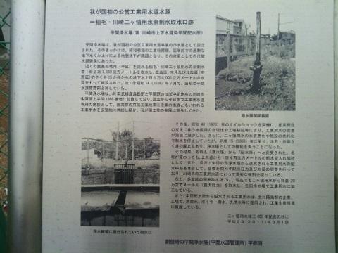鹿島田分水口