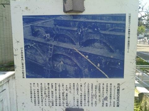 川崎市水道発祥の地