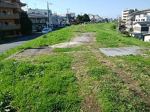 かすみ堤遊歩道