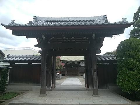 龍厳寺山門