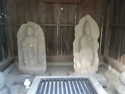 地蔵菩薩・観音菩薩