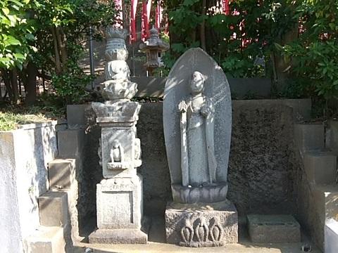 渋澤稲荷神社庚申塔