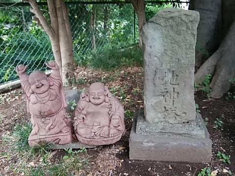 市ケ尾杉山神社地神塔