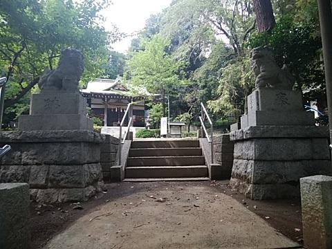 鉄神社狛犬