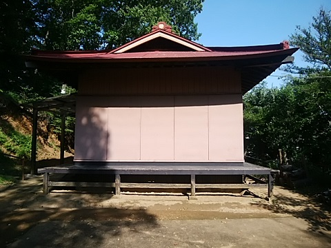 住吉神社舞殿