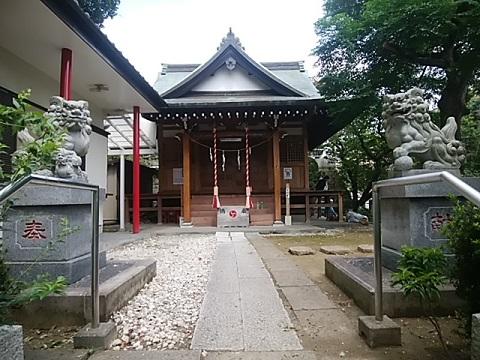 御嶽神社狛犬