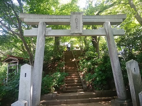 浄慶寺秋葉神社鳥居