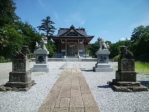 琴平神社狛犬