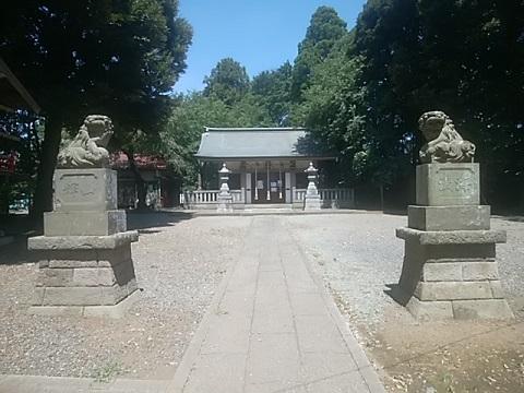 月読神社狛犬