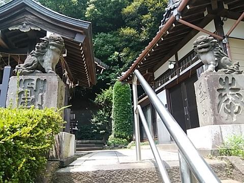 熊野神社狛犬