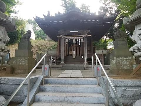 八杉神社狛犬