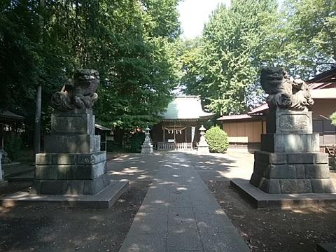 住吉神社狛犬