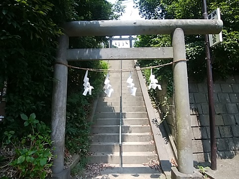 下田神社鳥居