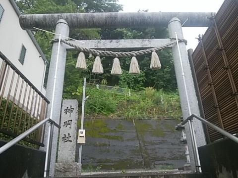 樽町神明社鳥居