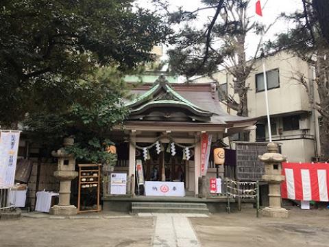 蒔田杉山神社