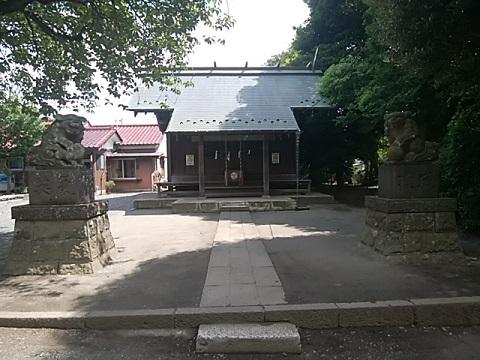 羽沢神明社狛犬