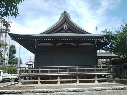 羽沢神明社舞殿