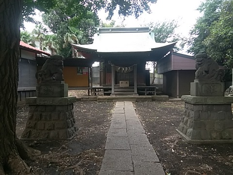 日枝神社狛犬