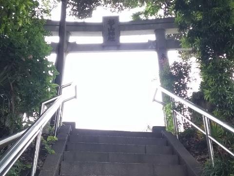 杉山神社鳥居