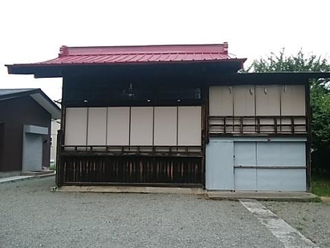 松見八幡神社神楽殿
