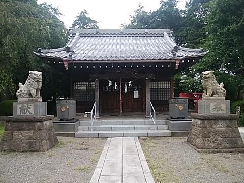 松見八幡神社狛犬