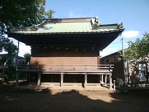 白幡八幡神社神楽殿