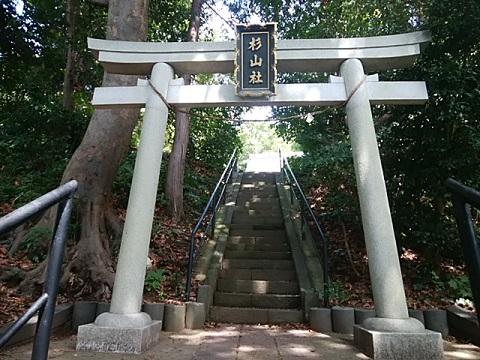 菅田杉山社鳥居