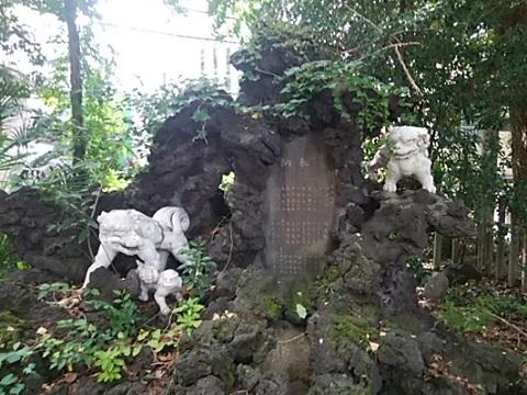 洲崎大神狛犬
