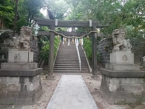 横浜一之宮神社狛犬