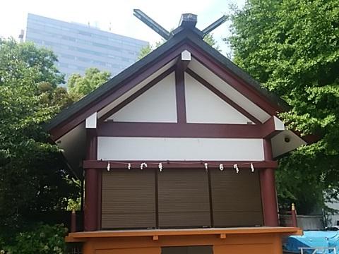 稲毛神社神楽殿