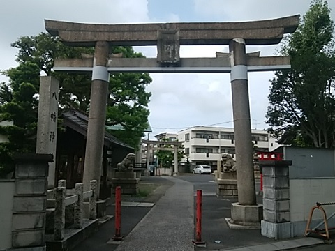 大島八幡神社鳥居