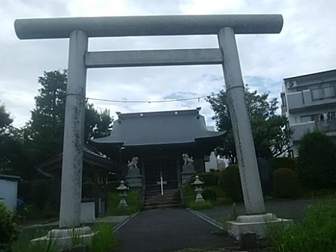 日向山神社鳥居