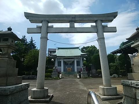 本郷神社鳥居