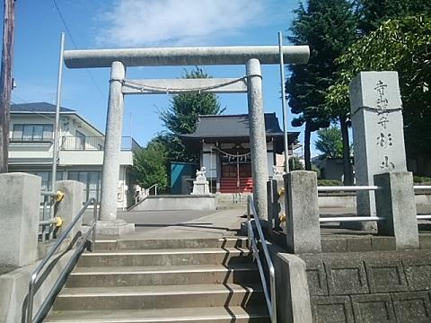 寺山杉山神社鳥居