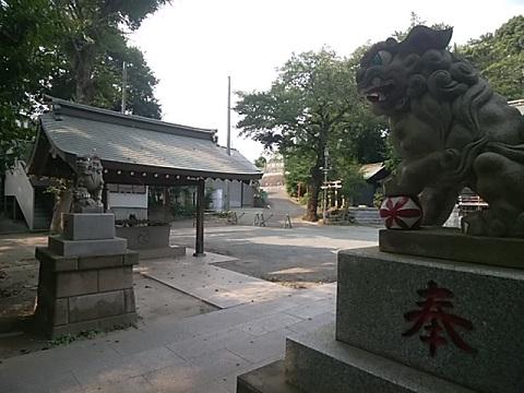 馬絹神社狛犬
