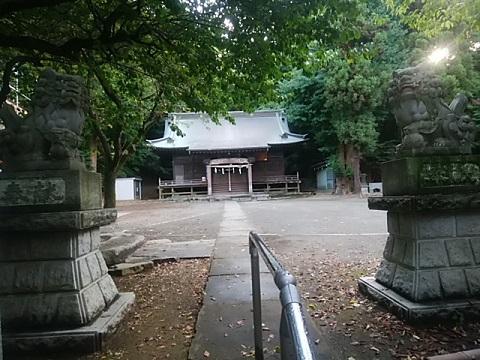 菅生神社狛犬