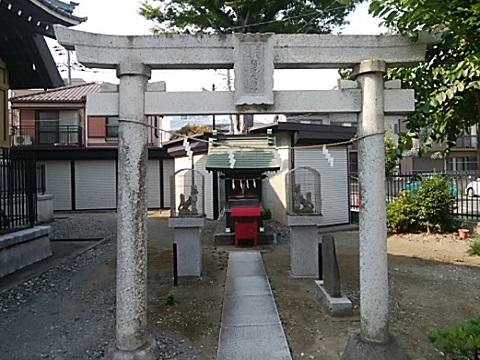 新城神社稲荷社