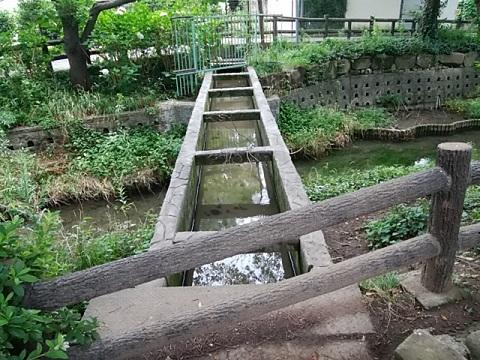 宿河原用水渡り