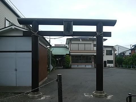 紺屋町女體神社鳥居