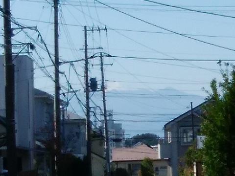 荏子田2丁目富士山