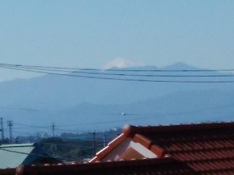 花桃の丘付近富士山